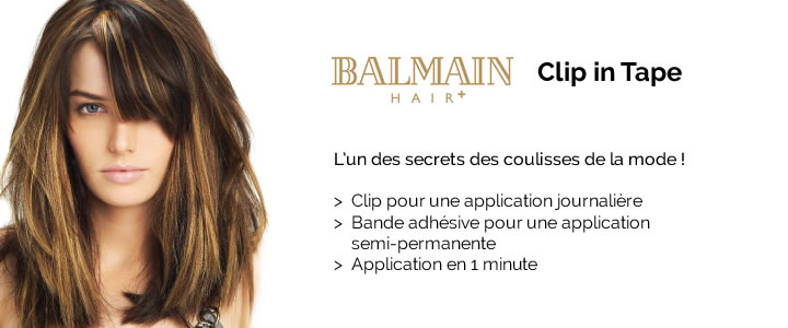 Extension Balmain Clip in Tape