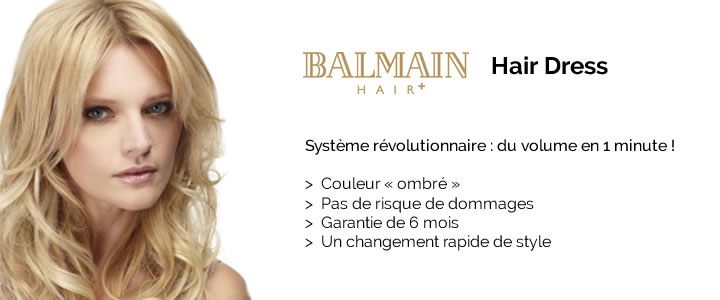 Extension Balmain Hair Dress